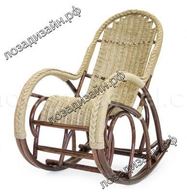Кресло качалка Красавица Люкс - фото3