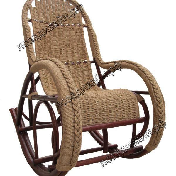кресло качалка Красавица люкс