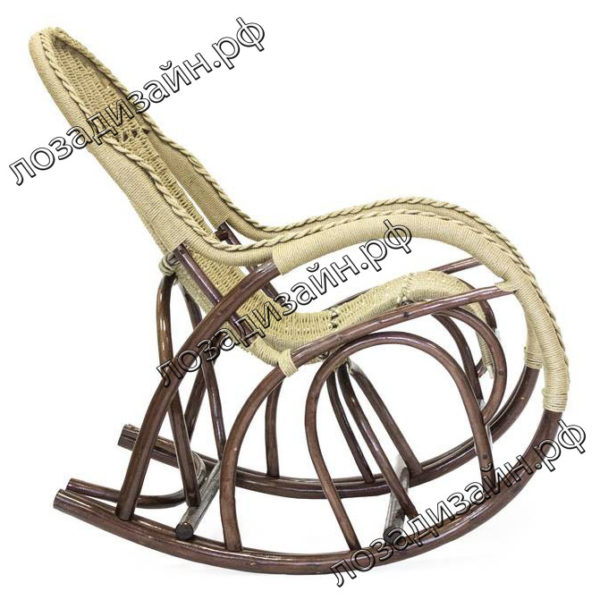 Кресло качалка Красавица Люкс - фото4
