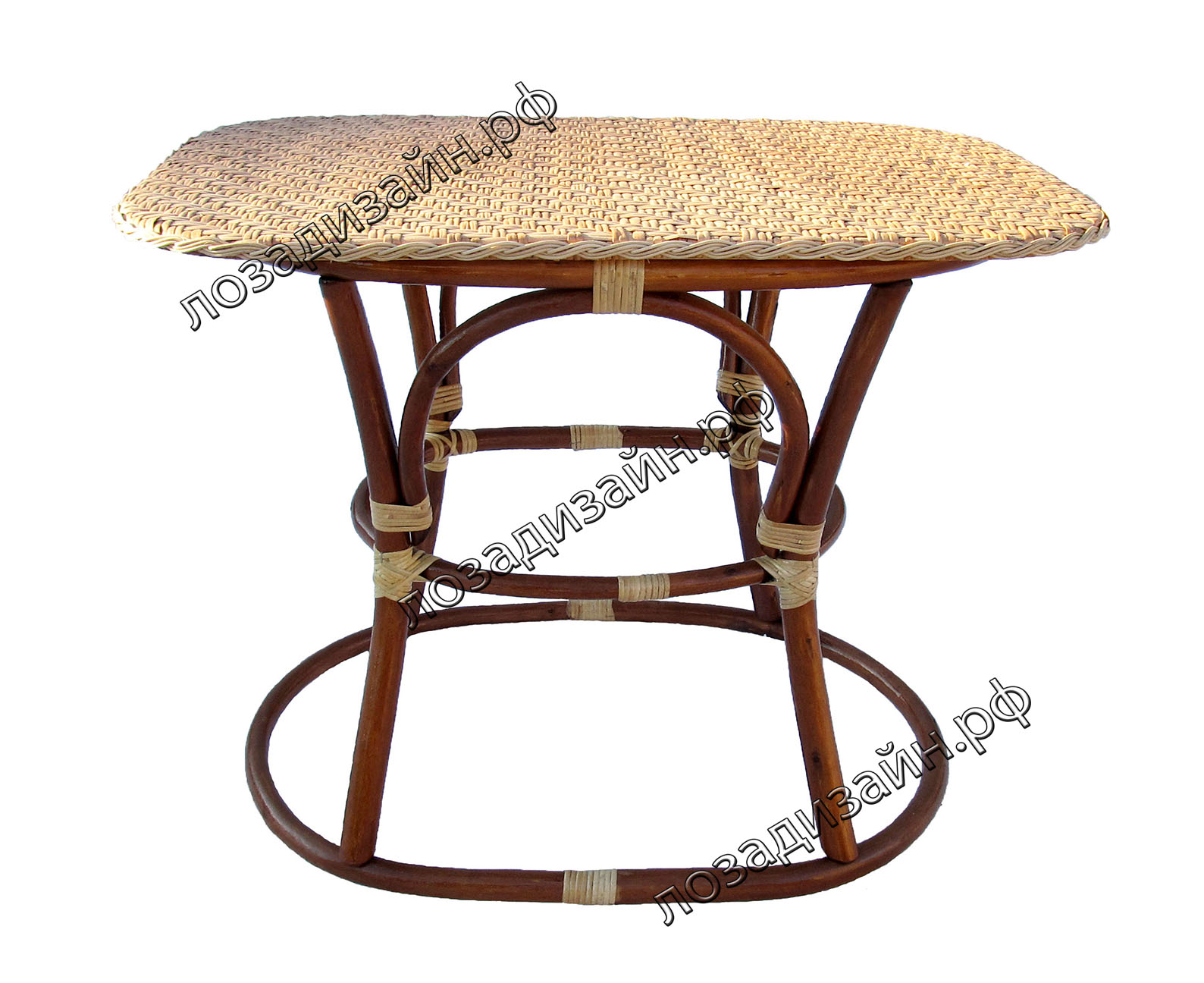 Стол плетеный из ивы Битюг