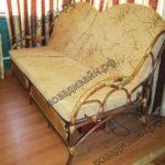 плетеный диван - фото1