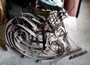 Шаблон для кресла качалки