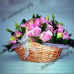 Корзина-черепаха-фото-с-цветами