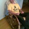 Кресло качалка ведуга фото с человеком