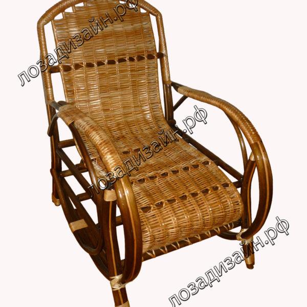 Кресло плетеное