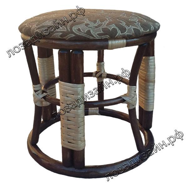 Банкетка плетеная