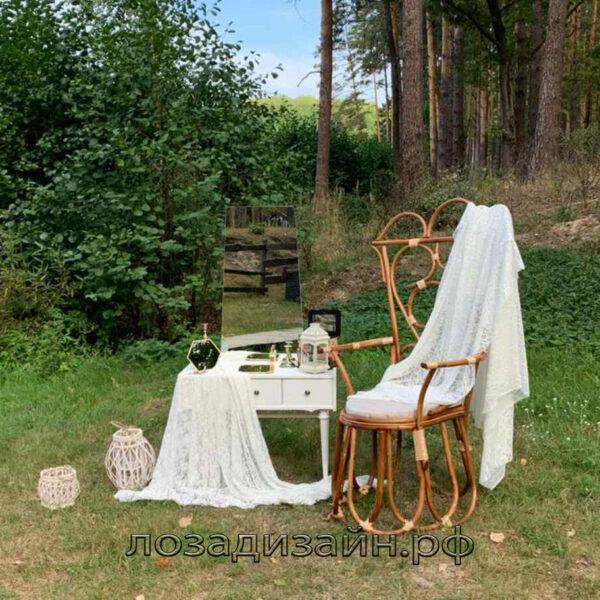Кресло в венском стиле